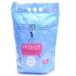 CC-CAT силикагелиевый(впитывающий) для кошек  3,8л