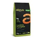 Alleva Natural корм для взрослых собак с ягненком и тыквой Медиум/Макси - 2 кг