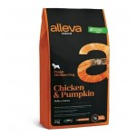Alleva Natural корм для щенков  с курицей и тыквой Медиум - 2кг