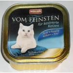 83447 Animonda VOM FEINSTEN for castrated cats кон. д/кастрированных кошек с индейкой и форелью 100гр*32