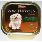 82660 Animonda VOM FEINSTEN FOREST кон.д/собак с олениной 150гр*22