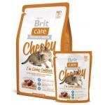 Brit Care Cat Cheeky Outdoor  для активных кошек и кошек уличного содержания 400гр