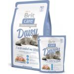 132623 Brit Care Daisy гипоаллергенный корм с индейкой и рисом для кошек с избыточным весом - 400гр
