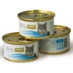 3056/100063 Brit Care Консервы д/кошек Тунец с индейкой 80гр