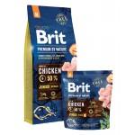 526314 Brit Premium by Nature Junior M сухой корм для молодых собак средних пород -1кг