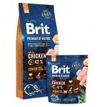 526383 Brit Premium by Nature Senior S+M сухой корм для пожилых собак мелких и средних пород -1кг