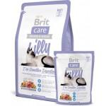 132617 Brit Care Cat lilly Sensitive Digestion беззерновой корм, для кошек с чувствительным пищеварением - 400гр