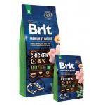 526512 Brit Premium by Nature Adult ХL сухой корм для взрослых собак гигантских пород - 3кг