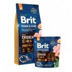 526376 Brit Premium by Nature Adult M сухой корм для взрослых собак средних пород с курицей 15кг