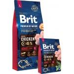 Brit Premium by Nature Adult L сухой корм для взрослых собак крупных пород с курицей 3кг