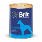9280 Brit Beef & Rice кон.д/собак Говядина и рис 850гр
