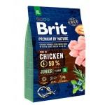 526499 Brit Premium by Nature Junior XL сухой корм для молодых собак гигантских пород - 3кг