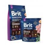 526284 Brit Premium by Nature Adult S сухой корм для взрослых собак мелких пород -1кг