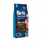 526611 Brit Premium by Nature Sensitive Lamb сухой корм для собак с чувствительным пищеварением -1кг