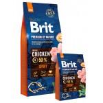 526666 Brit Premium by Nature Sport д/взрослых собак с высокими затратами энергии -3кг