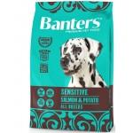 35050 Banters Sensitive д/собак Лосось с Картофелем - 3кг
