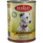 75019 Беркли кон. д/собак говядина с картофелем 400гр*6