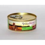 Biomenu ADULT Консервы для кошек мясной паштет с Языком  95%-МЯСО 100гр*24
