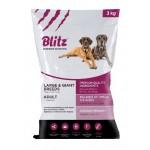 BLITZ сухой корм для собак крупных пород 3кг