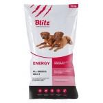 BLITZ сухой корм для активных, рабочих и спортивных собак всех пород 15кг