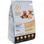 BLITZ сухой корм для собак миниатюрных и мелких пород 500гр