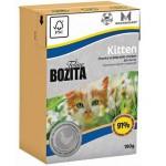 BOZITA Tetra Pak Funktion Kitten кусочки Курицы в желе для КОТЯТ и беременных кошек 190гр