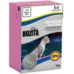 BOZITA Tetra Pak Funktion Sensitive Hair&Skin кусочки Лосося в желе для кошек с чувствительнкожей и шерстью 190гр