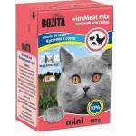 2104 BOZITA MINI кон. д/кошек кусочки в соусе Мясной Микс 190гр*16 в упак. Tetra Recart