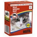 BOZITA Feline Beef, мясные кусочки в соусе c Говядиной - 370г