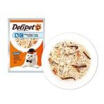 DeliPet Влажное Лакомство для кошек Филе цыпленка с треской 85гр