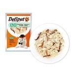 DeliPet Влажное Лакомство для кошек Филе цыпленка с морскими гребешками 85гр