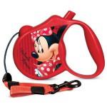 Disney WD1004 Поводок-Рулетка Minnie M (5м до 20кг)