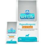 25265 FARMINA Vet Life HIPO Fish & Potato диета для собак рыба и картофель при пищевой аллергии и пищевой непереносимости 2кг