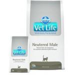 22493 FARMINA Vet Life Neutered Male корм для кастрированных котов 2кг