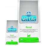 25302 FARMINA Vet Life RENAL диета для кошек при почечной недостаточности, вспомогательное средство в терапии сердечной недостаточности 2кг