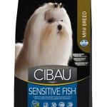 30887 CIBAU Sensitive Fish Mini чувствительное пищеварение для собак мини пород с рыбой 800гр