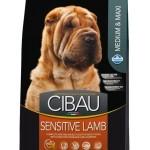 30979 CIBAU Sensitive Lamb Medium & Maxi чувствительное пищеварение для собак средних и крупных пород с ягненком 2,5кг