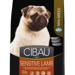 30894 CIBAU Sensitive Lamb Mini чувствительное пищеварение для собак мини пород 800гр