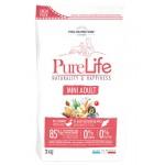 Pure Life Mini Adult (Пур Лайф Мини Эдалт) С уткой и белой рыбой - 2кг