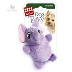 GiGwi 75013 Игрушка для собак Слон с 2-мя пищалками 1*100