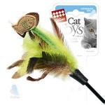 GiGwi 75017 Дразнилка для кошек с рыбками на длинной палке 1*384