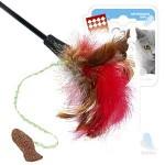 GiGwi 75018 Дразнилка для кошек с рыбкой на длинной палке 1*384