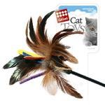 GiGwi 75049 Дразнилка для кошек на стеке цветная 1*144