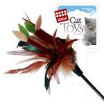 GiGwi 75050 Дразнилка для кошек на стеке с листиками 1*144