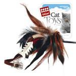 GiGwi 75051 Дразнилка для кошек на стеке с рыбкой 1*96