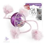 GiGwi 75071 Игрушка для кошек Мячик пластмассовый с погремушкой 1*96