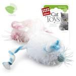 *GiGwi 75096 2 мышки (розовая и голубая) с кошачей мятой   1*100