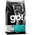 GO! Fit +Free Grain Free All life Stages Беззерновой для собак всех возрастов 4 вида мяса - 230гр