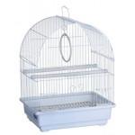KREDO 100  Клетка д/птиц цветная 30*23*39см овальная, комплект (Подарочная упаковка)