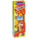 10615/61267 Витакрафт Крекеры для австралийских попугаев фруктовые 2шт*8